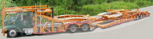 jack cooper car carrier truck