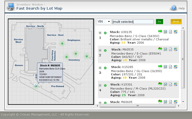 mdl-fast-search-from my dealer lot rfid car locator system