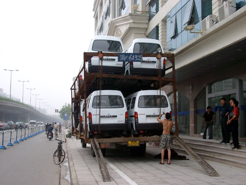 Chinese car hauler
