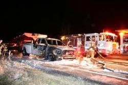 burned 3-car