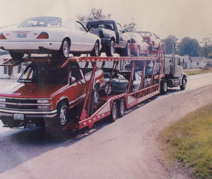 car carrier or flatbed trailer in minutes transformer trailers Inc.
