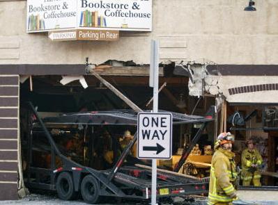 La Canada Flintridge big rig auto transporter fatal wreck Marcos Costa