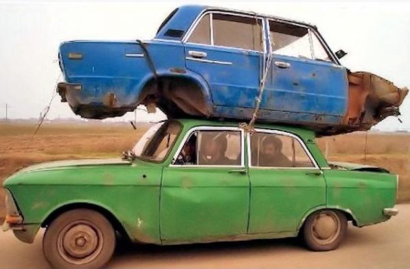 low overhead car hauler