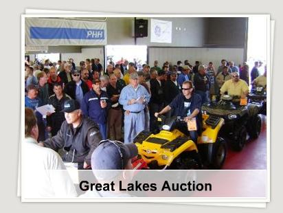 ADESA great lakes boat and rv specialty auction