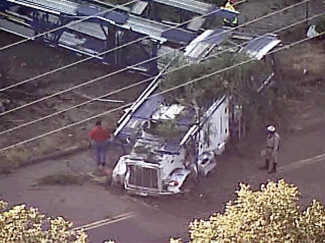 San Diego auto transport wreck