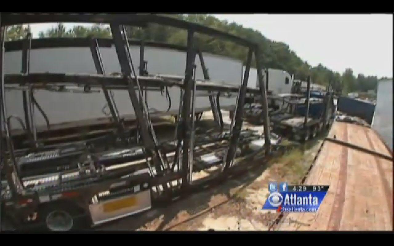 auto transporter stolen for the bmw cargo
