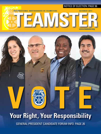 carhaul division gets swept along with the rest of the teamsters