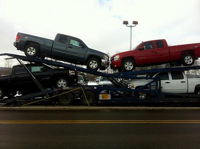 Terrys 6 truck load cottrell stinger ez-load