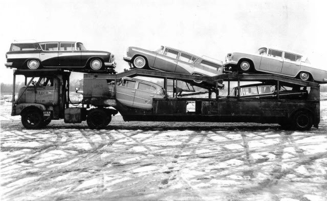 half car headrack for auto transporter