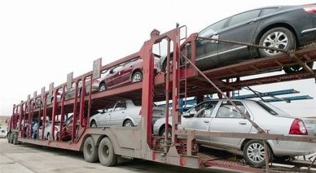 12-CAR FLAT-LOAD HIGHMOUNT auto transporter car hauler