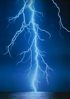 Lightning hits car hauler auto transporter