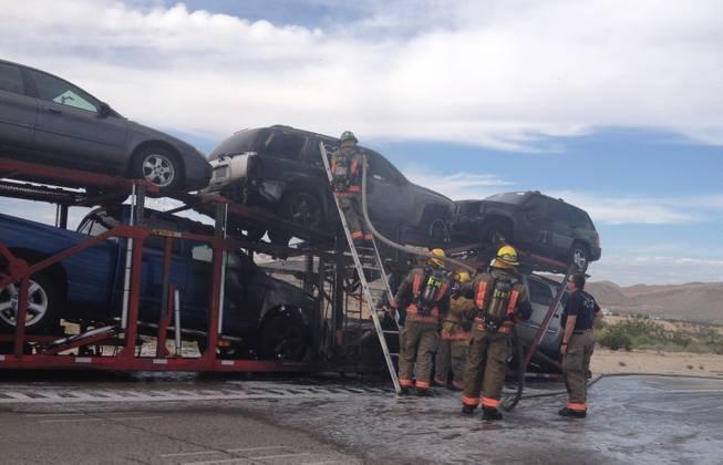 sb 15 auto transporter fire