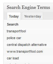 search terms