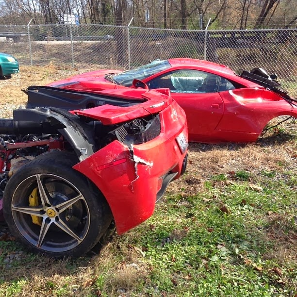 severed ferrari